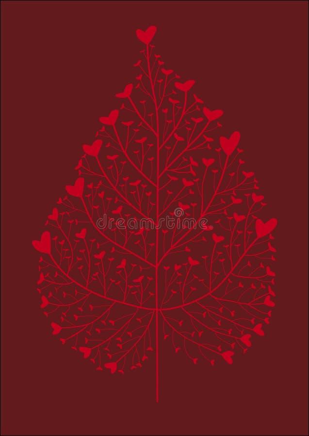 Download Heart tree stock vector. Illustration of lovely, heart - 3266296