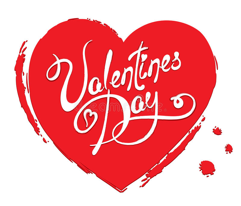 Heart Valentine day royalty free stock image