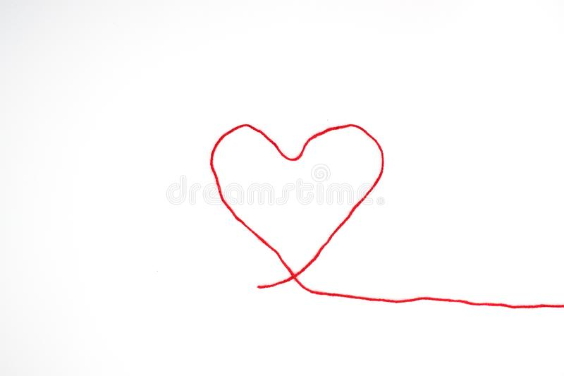 Heart for Valentine`s day royalty free stock photo