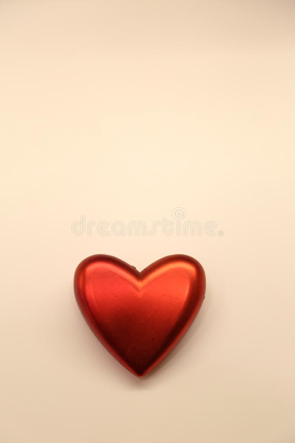 Heart on Valentine`s Day. On a white backgroundn stock photo