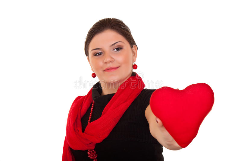 Download Heart for valentines day stock photo. Image of give, care - 12844828