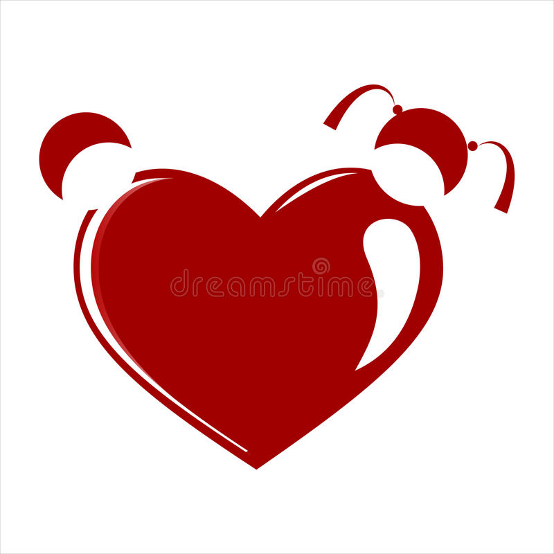 Download Heart  vector stock vector. Illustration of love, simple - 16336512