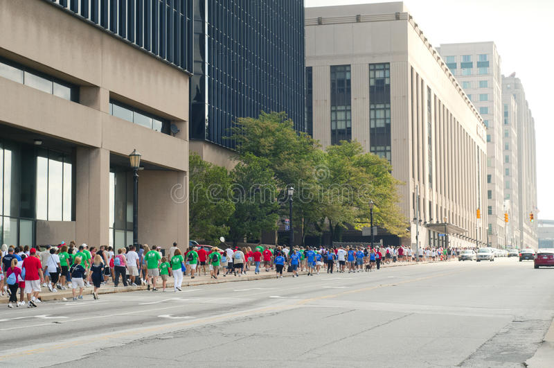 Download Heart Walk Cleveland editorial image. Image of huron - 20945490