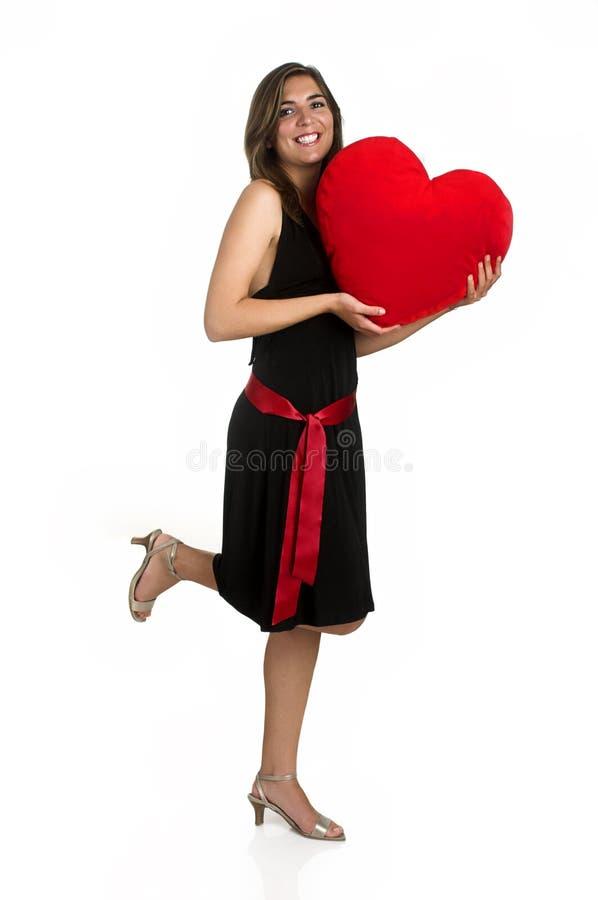 Heart Woman stock photography