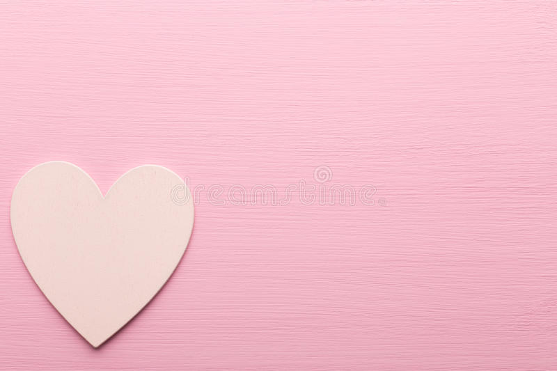 Heart. Heart on the wooden background. Provencal still royalty free stock image