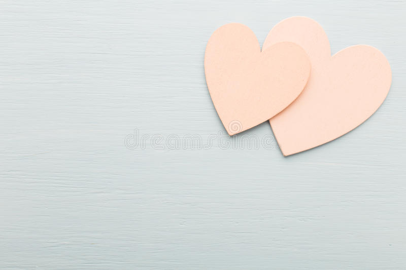 Heart. Heart on the wooden background. Provencal still stock photos