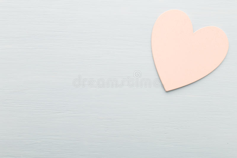 Heart. Heart on the wooden background. Provencal still stock images