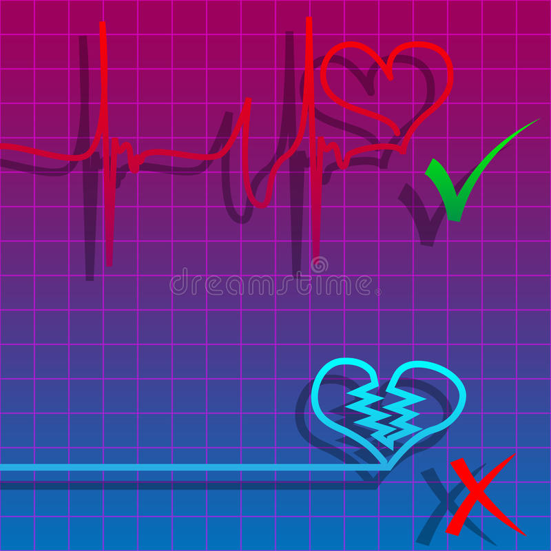 Download Heartbeat stock vector. Image of care, analyze, heartbeat - 18839513