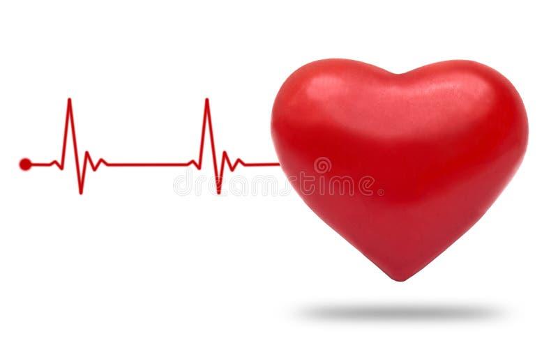 heartbeat ilustração stock