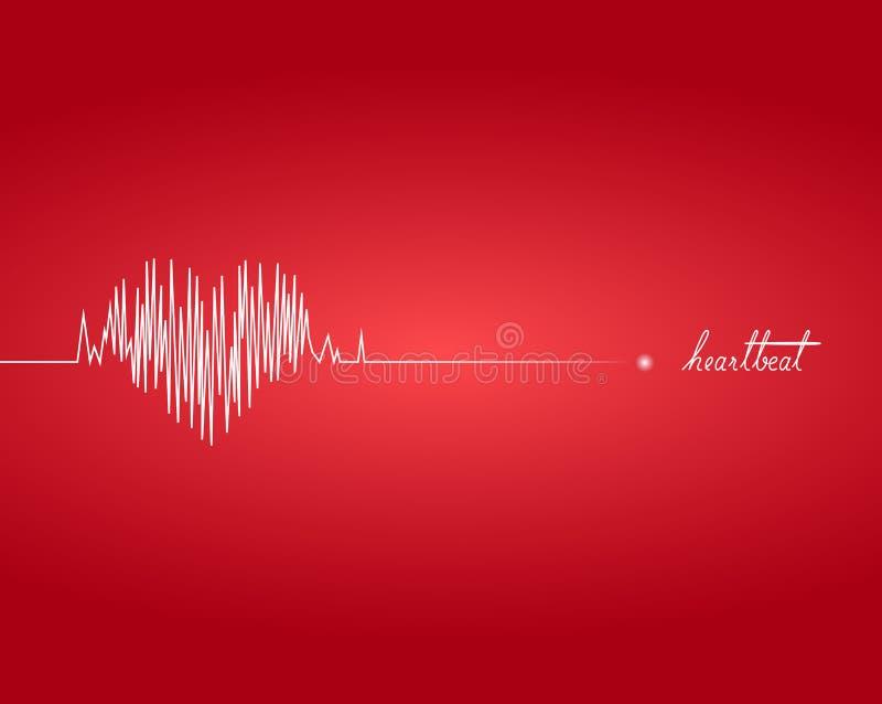 heartbeat ilustração do vetor