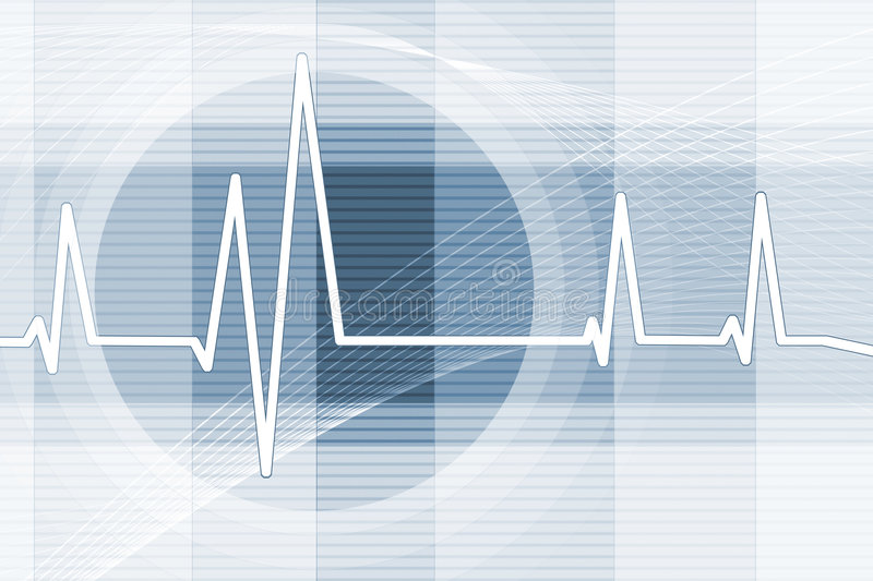 Heartbeat Background stock illustration