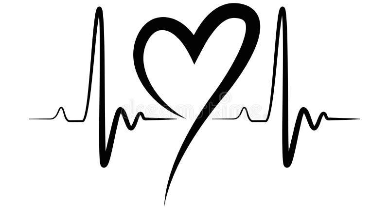 heartbeat shape illustration black stock vector illustration of line healthy 86113771. Black Bedroom Furniture Sets. Home Design Ideas