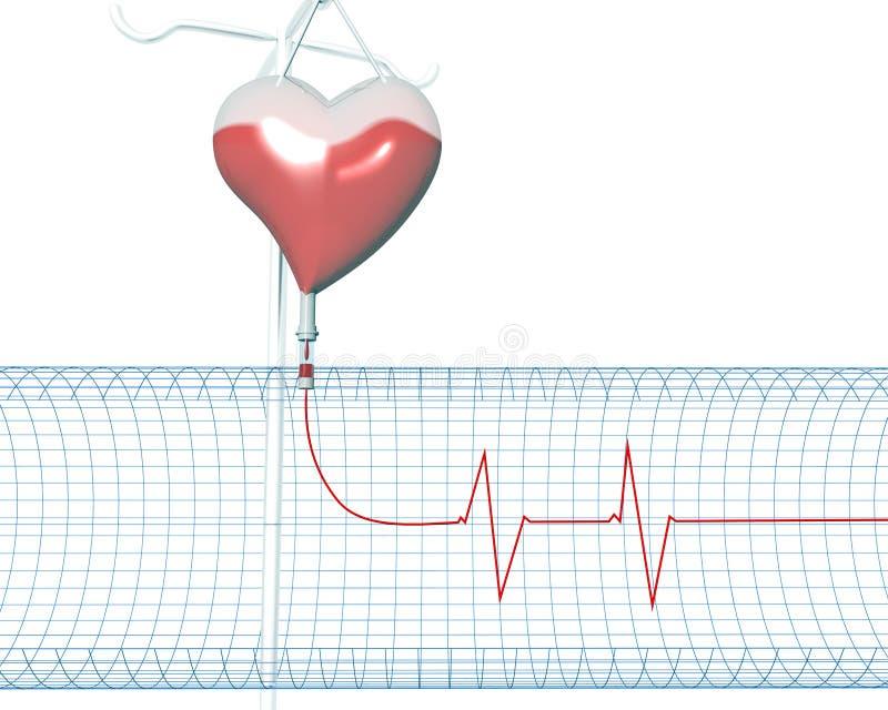 heartbeats διανυσματική απεικόνιση