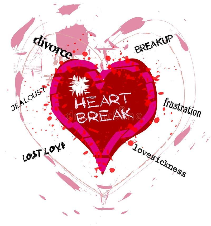 heartbreak ελεύθερη απεικόνιση δικαιώματος