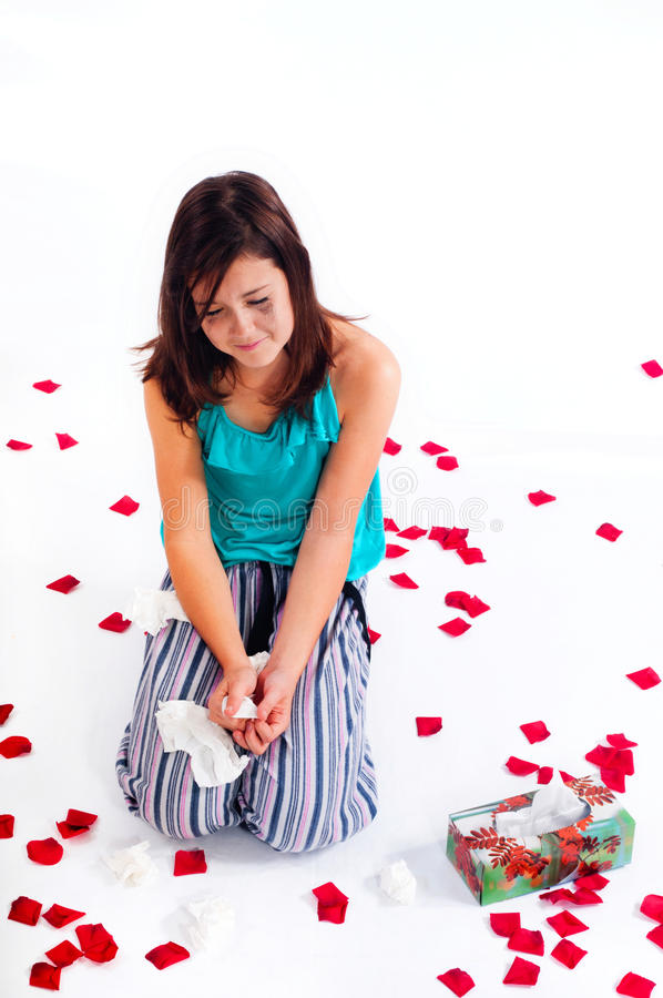 Free Heartbreak Of A Young Teenager Stock Images - 21771754