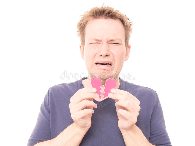 Heartbreak stock images
