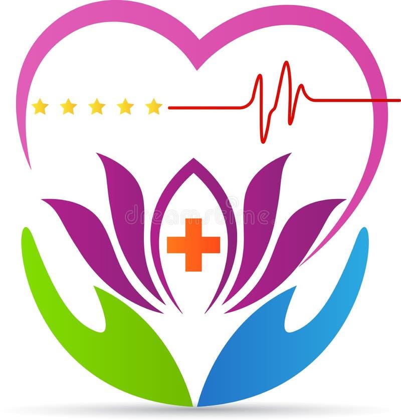 Heartcare logo ilustracji