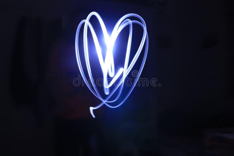 Hearted ligero imagen de archivo