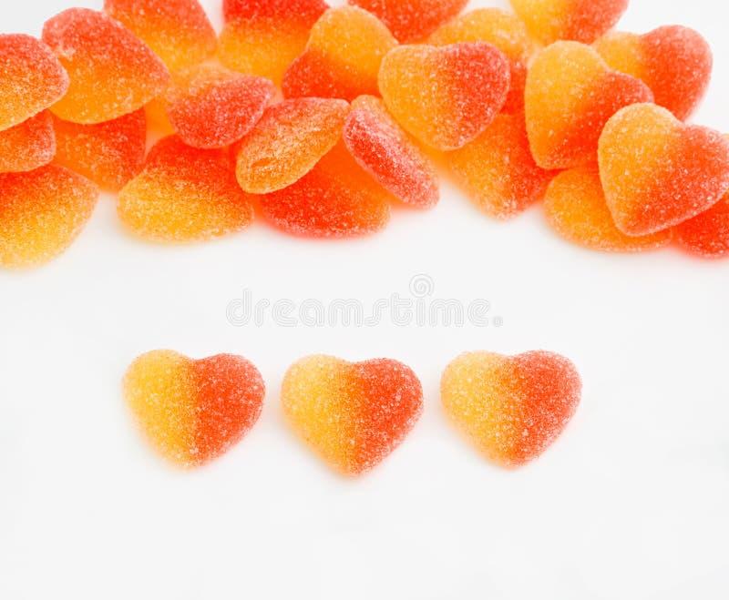 Hearted suikergoed royalty-vrije stock afbeeldingen