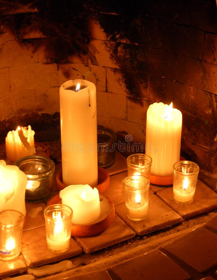 Hearth Light stock images