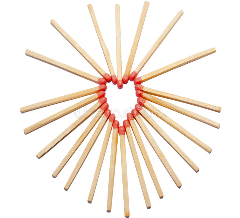Download Hearth made of matches stock photo. Image of warmth, warm - 27620530