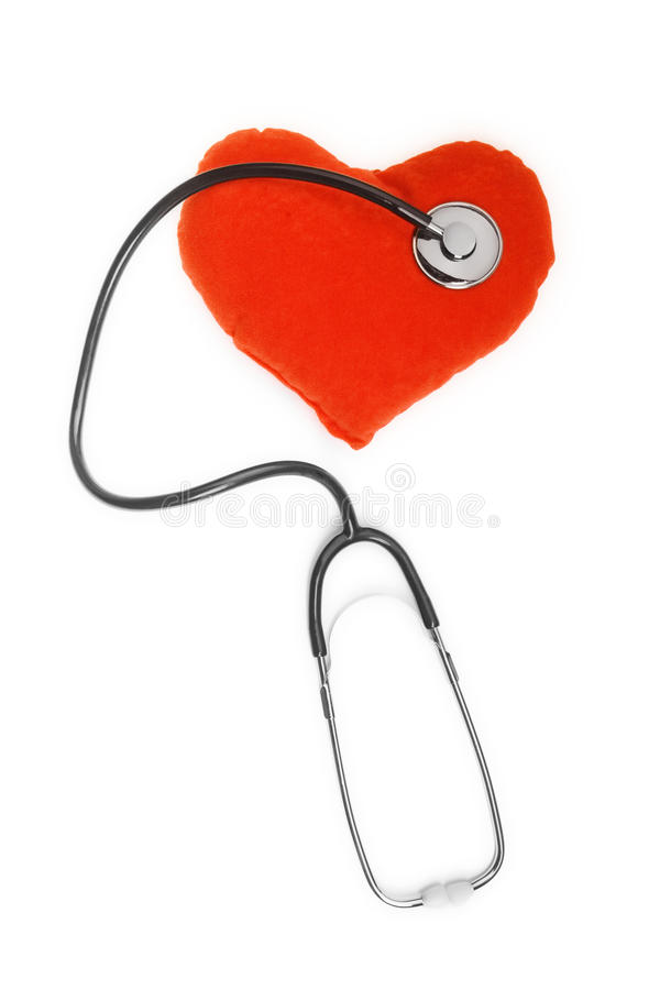 hearth stetoskop zdjęcie royalty free