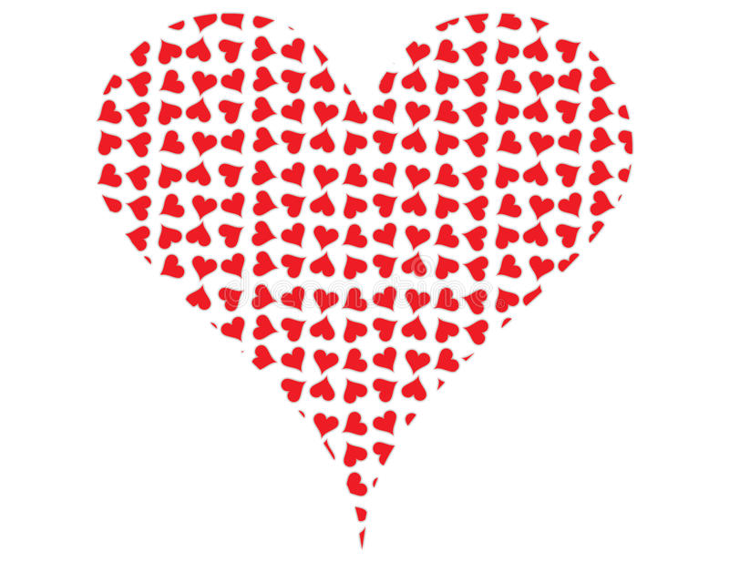 Download Hearts stock illustration. Image of hearts, mini, cool - 10622803