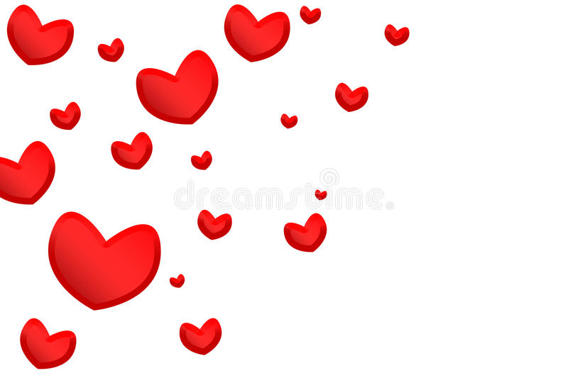 Download Hearts stock illustration. Image of backdrop, hearts - 11475289