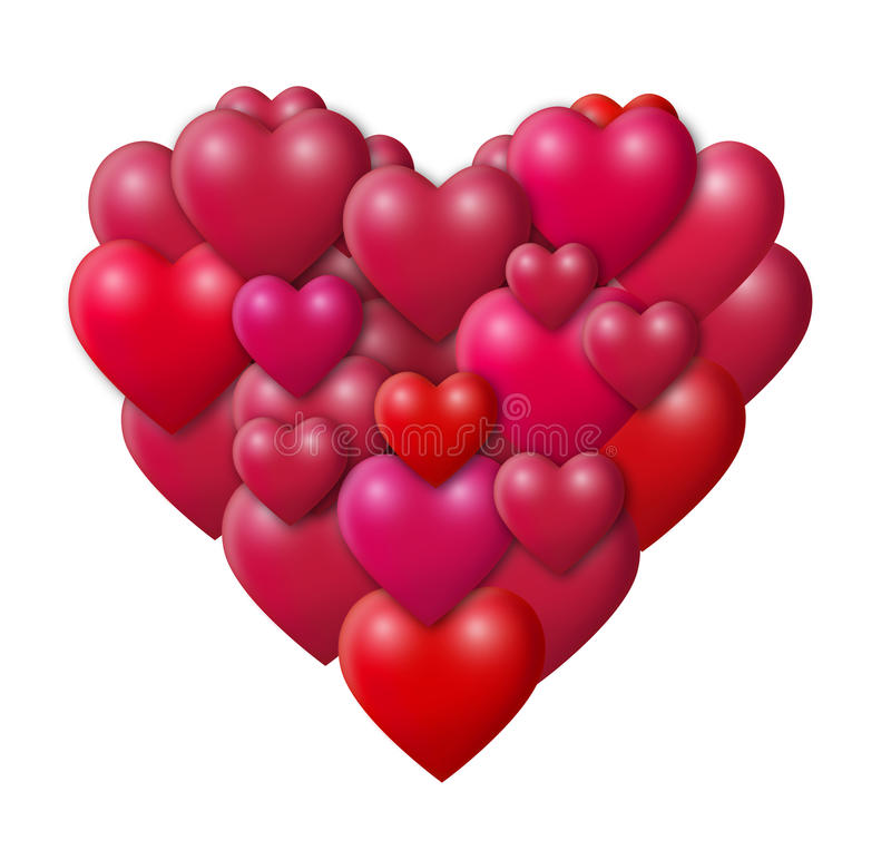 Download Hearts Stock Photo - Image: 18220240