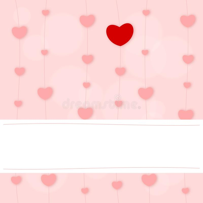 Download Hearts stock illustration. Image of affection, label - 21966909