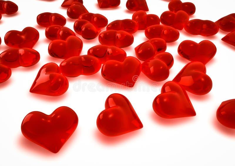 Download Hearts stock illustration. Illustration of festive, card - 23239699