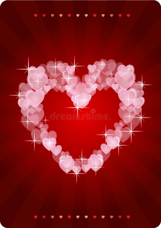 Trendy Hearts Royalty Free Stock Photography