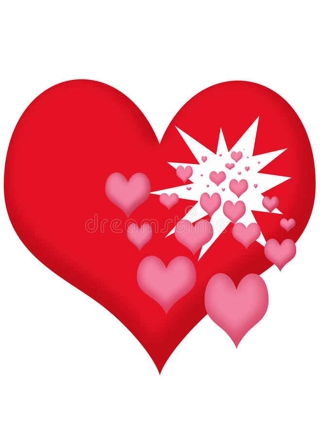 Download Hearts Royalty Free Stock Photos - Image: 502028