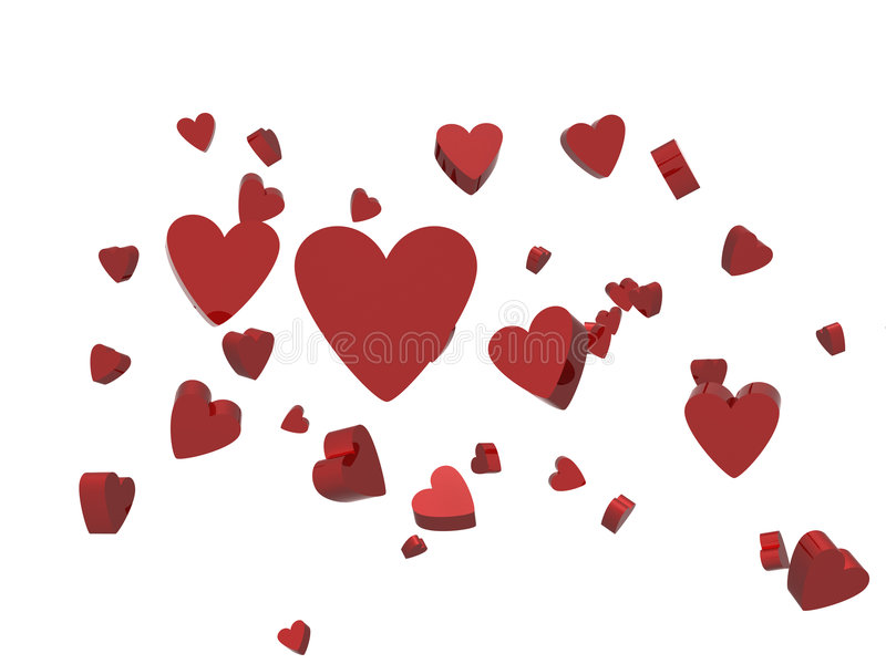 Download Hearts Royalty Free Stock Images - Image: 6145319