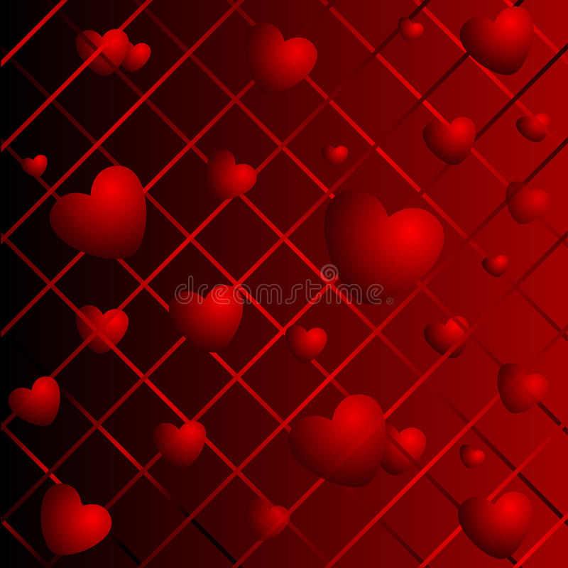 Download Hearts On A Abstract Background Stock Photography - Image: 12188842