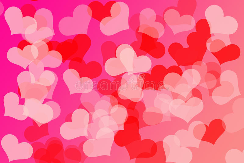 Hearts Background. Colorful Valentine Hearts Pattern. a perfect background vector illustration