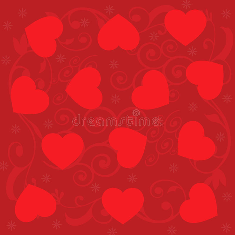Download Hearts background stock vector. Illustration of love - 23003959