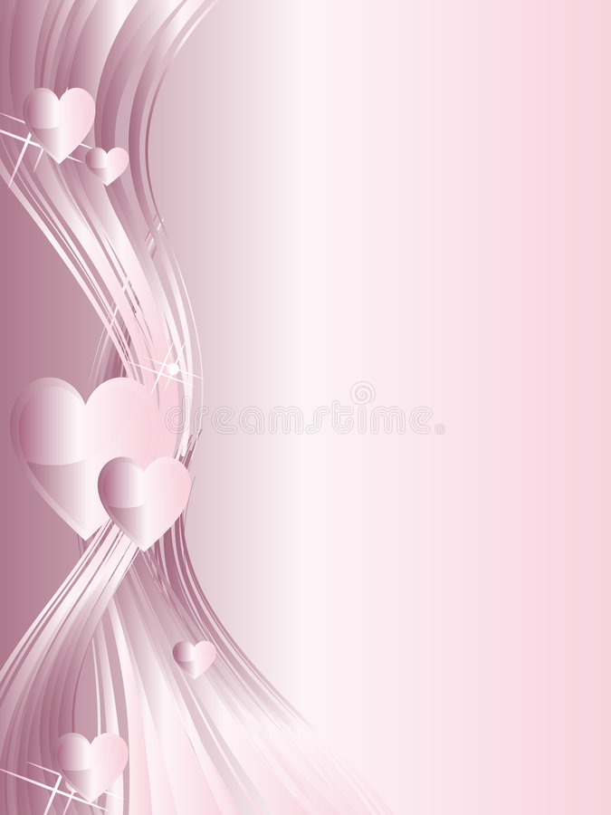 Free Hearts Background Stock Photography - 6259112