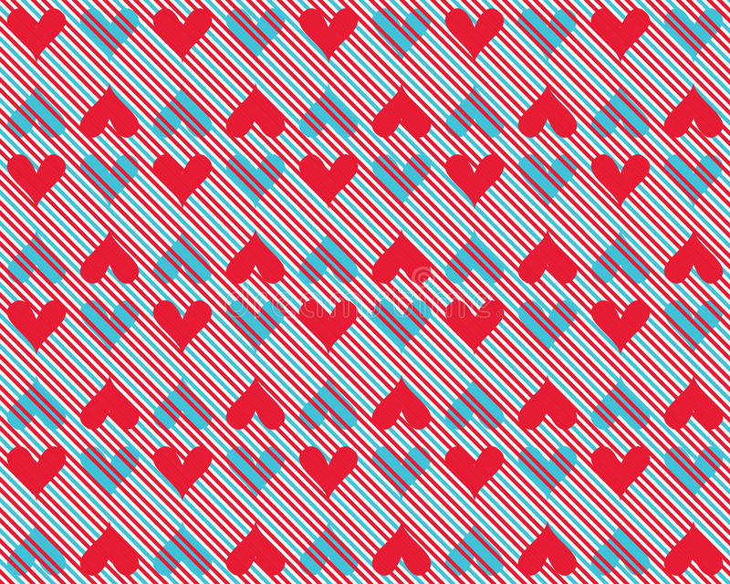 Hearts background 8 stock image