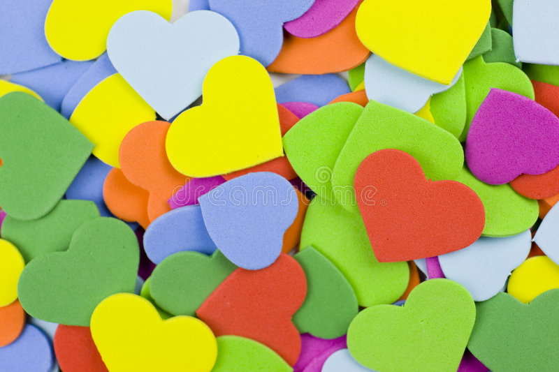 Download Hearts background stock photo. Image of background, green - 8101378