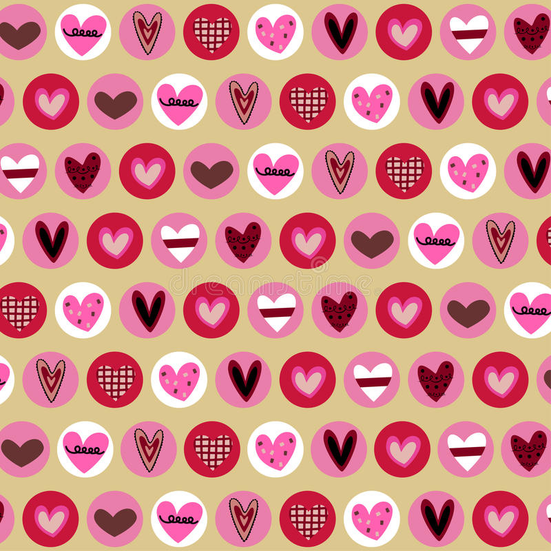 Download Hearts background stock vector. Image of card, background - 9519228