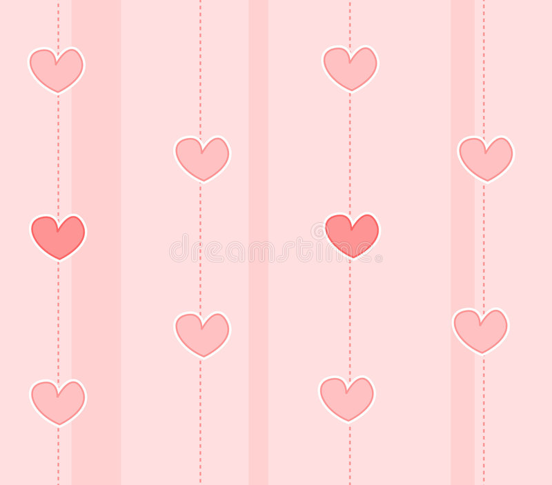 Hearts Background / Texture Stock Photos