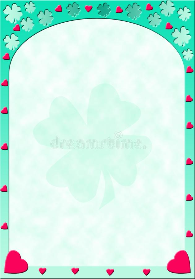 Hearts and clovers