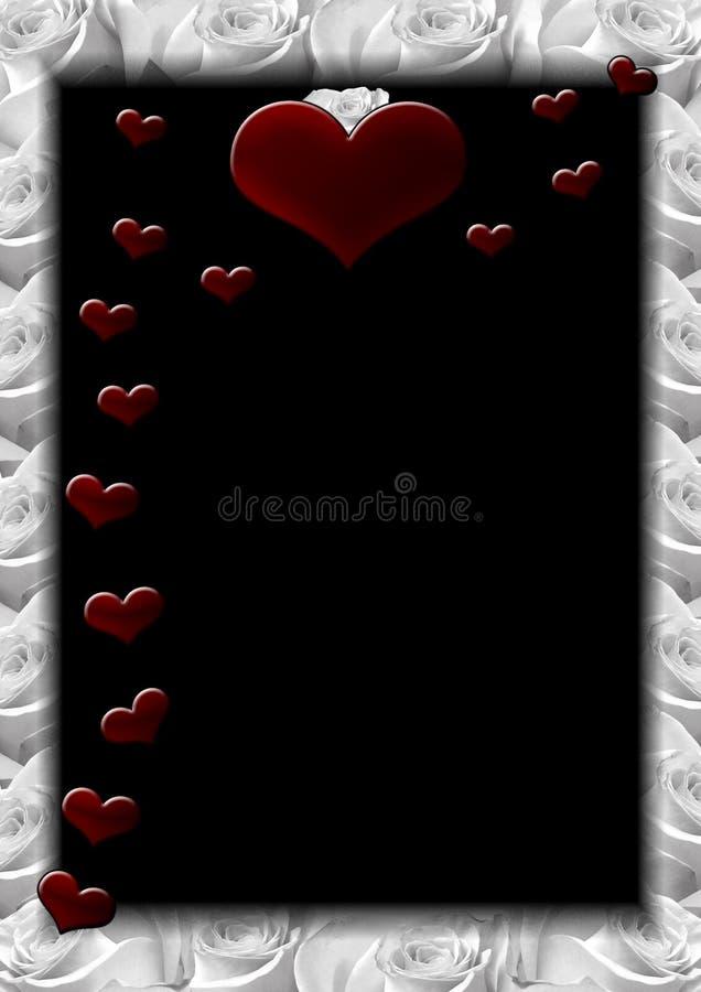 Hearts F royalty free illustration