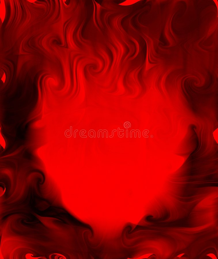 Hearts on Fire royalty free stock photography