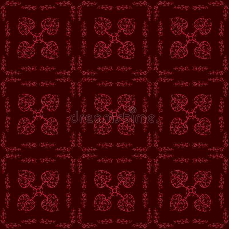 Download Hearts Floral Seamless Pattern Stock Vector - Illustration: 23841177