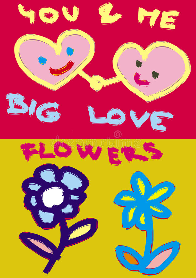 Download Hearts And Flowers Royalty Free Stock Images - Image: 5099159
