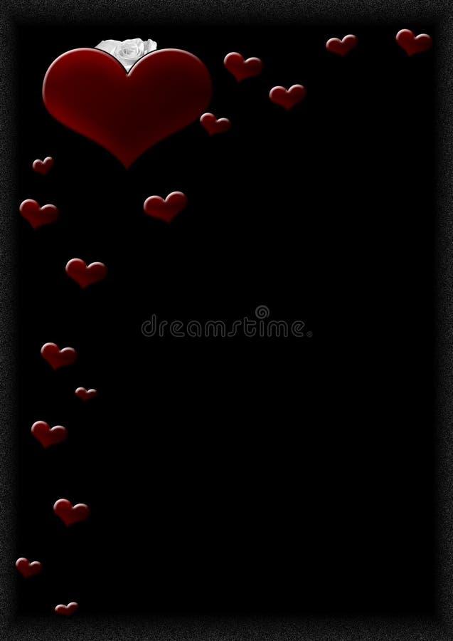 Hearts H stock photos