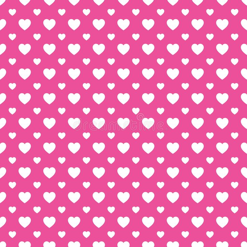 Hearts icons template texture. Valentine`s Day vector background. Romantic seamless pattern. Cute love hearts symbols. Pink,white vector illustration
