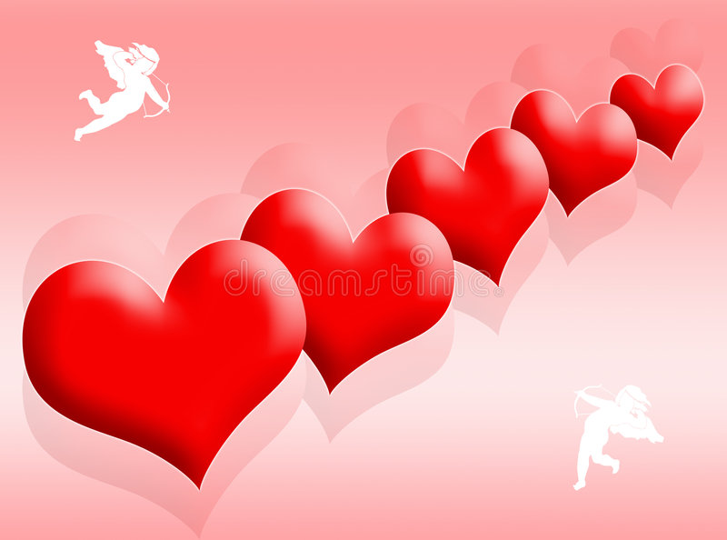 Download Hearts and love stock illustration. Image of celebration - 4067811